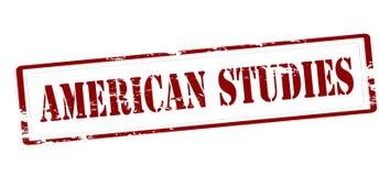 Études américaines illustration de vecteur
