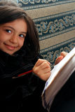 Études de fille Photographie stock libre de droits