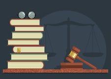 Études juridiques illustration libre de droits
