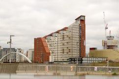 Étudiant Accommodation dans Stratford, Londres Image libre de droits