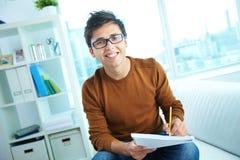 Étudiant adolescent image stock