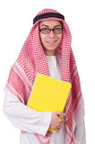 Étudiant arabe Photo stock