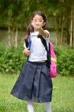Étudiant Child Gesturing Stop images stock