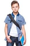 Étudiant de l'adolescence de garçon Photo libre de droits
