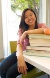Étudiant de l'adolescence heureux Photographie stock libre de droits