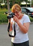 Étudiant de photographie Images libres de droits