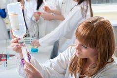 Étudiant en médecine photographie stock