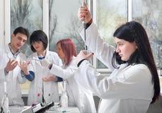 Étudiant en médecine photo libre de droits