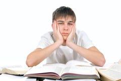 Étudiant ennuyé image libre de droits