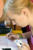 Étudiant féminin Photo stock