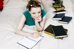 Étudiant féminin Images stock