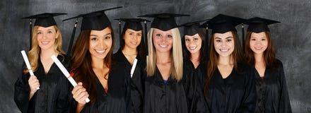 Étudiant Graduating School photographie stock libre de droits