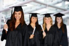 Étudiant Graduating School images stock