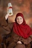 Étudiant heureux photos libres de droits