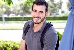 Étudiant mâle photographie stock libre de droits