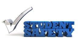 Étudiant Safety - contrôle des armes dans les écoles Images libres de droits