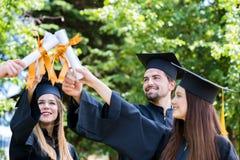 Étudiant Success Learning Concep d'obtention du diplôme d'éducation de célébration photographie stock libre de droits