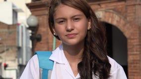 Étudiant And Teen Girl de lycée image stock
