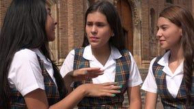 Étudiant Teen Girls Talking photographie stock libre de droits