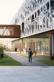 Étudiant universitaire à une université à Odense, Danemark Images stock