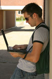Étudiant universitaire image libre de droits