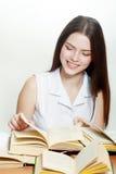 Étudiant universitaire amical Photos libres de droits