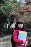 Étudiant universitaire asiatique photos libres de droits