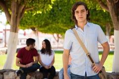 Étudiant universitaire attirant Photo libre de droits