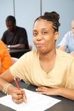 Étudiant universitaire avec l'invalidité Image stock