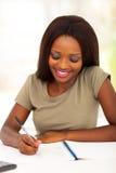 Étudiant universitaire féminin Images libres de droits