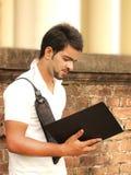 Étudiant universitaire indien Image stock