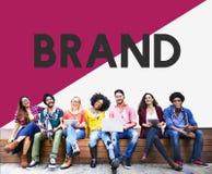 Étudiant universitaire Start vers le haut de concept de marketing de marque Photos libres de droits
