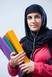 Étudiante arabe Photographie stock
