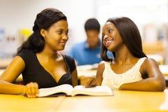 Étudiantes africaines photos libres de droits