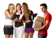 Étudiants Image libre de droits