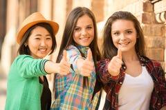 étudiants Images libres de droits