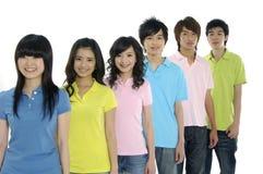 étudiants asiatiques jeunes photo stock