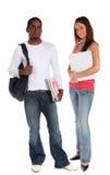 Étudiants attirants Photos stock