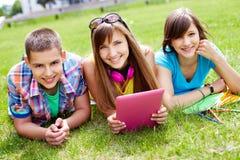 Étudiants aux loisirs Photos libres de droits