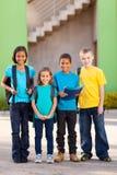 Étudiants d'école primaire Photographie stock libre de droits
