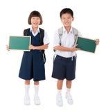Étudiants d'école primaire Photos libres de droits