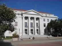étudiants de durée de campus Images libres de droits
