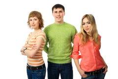 étudiants de groupe Image libre de droits
