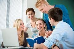 Étudiants de lycée Image stock