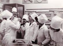 Étudiants de première année d'institut médical de Vitebsk au département o Photo stock