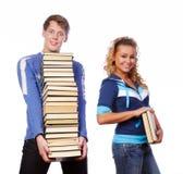 Étudiants fous Photo libre de droits