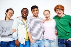 Étudiants gais Images libres de droits