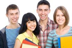 Étudiants heureux Photos libres de droits