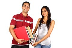Étudiants indiens. Image stock