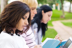 étudiants jeunes Image libre de droits